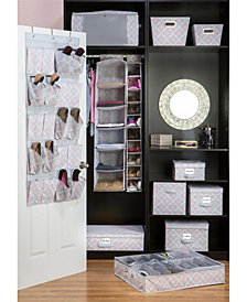Closet Candie 6 Shelf Hanging Organizer in Ikat