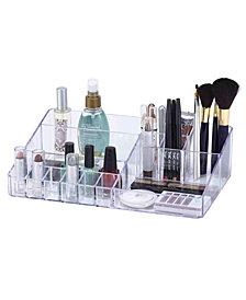 Simplify15 Compartment Acrylic Cosmetic Organizer