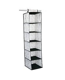 Simplify 6 Shelf Closet Organizer in Marble