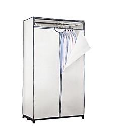 """36"""" Wide Portable Closet in White"""