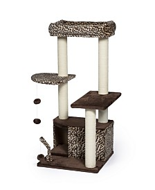 Prevue Pet Products Kitty Power Paws Leopard Lounge 7306