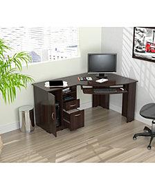 Inval America L-Shaped Corner Work Center