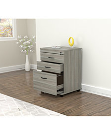 Inval America Locking File Cabinet