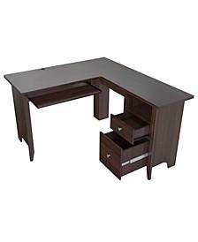 L Shaped Computer Writing Desk