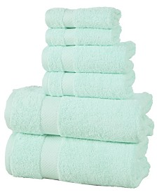 Elegance Spa Luxurious 600 GSM Cotton 6 Piece Towel Set