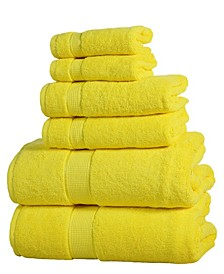 Luxurious Cotton 6 piece Towel Set