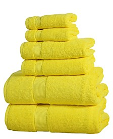 Elegance Spa Luxurious Cotton 6 piece Towel Set