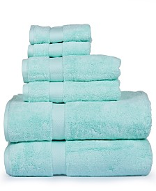 Madhvi Collection Premium Cotton 800 GSM 6 Piece Towel Set