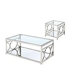 Beller Contemporary 2-Piece Table Set
