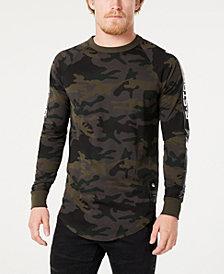 G-Star RAW Men's Long-Sleeve Camo T-Shirt, Created for Macy's
