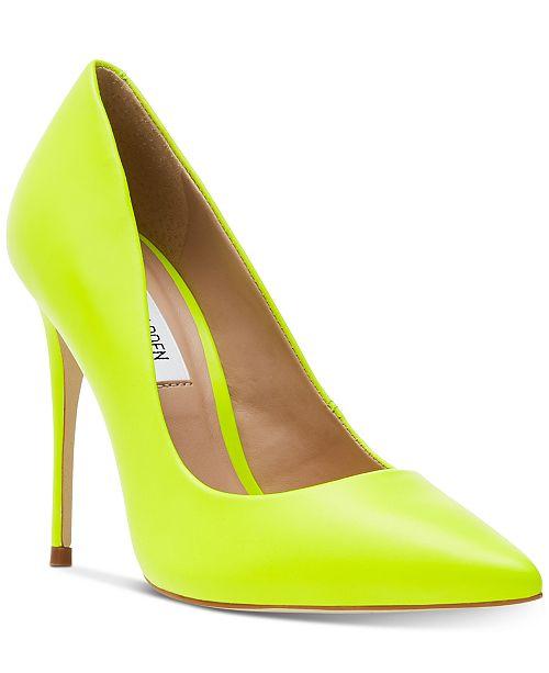 7a31bd55478ab Steve Madden Daisie Pumps & Reviews - Pumps - Shoes - Macy's