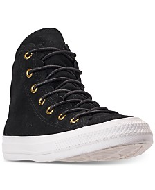 a8caf2ebe8d8 Converse Women s Chuck Taylor All Star High Top Frilly Thrills Casual  Sneakers from Finish Line