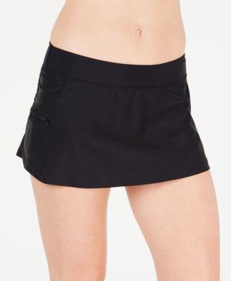 Zip-Pocket Swim Skirt, Created for Macy's