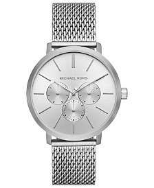 Michael Kors Men's Blake Stainless Steel Mesh Bracelet Watch 42mm