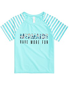Big Girls Mermaids Graphic Rash Guard, Created for Macy's