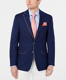 Tallia Men's Slim-Fit Navy Mix Sport Coat