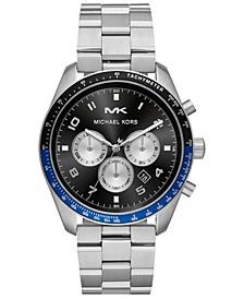 Men's Chronograph Keaton Stainless Steel Bracelet Watch 43mm