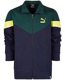 Puma Big Boys Colorblocked Zip-Up Jacket