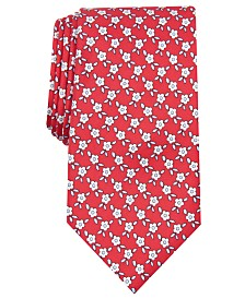 Club Room Men's Floral Silk Tie, Created for Macy's