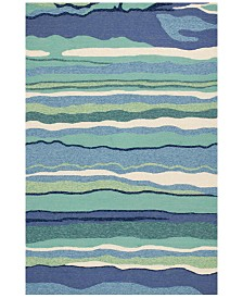 KAS Harbor Lagoon 4216 Ocean 2' x 3' Indoor/Outdoor Area Rug