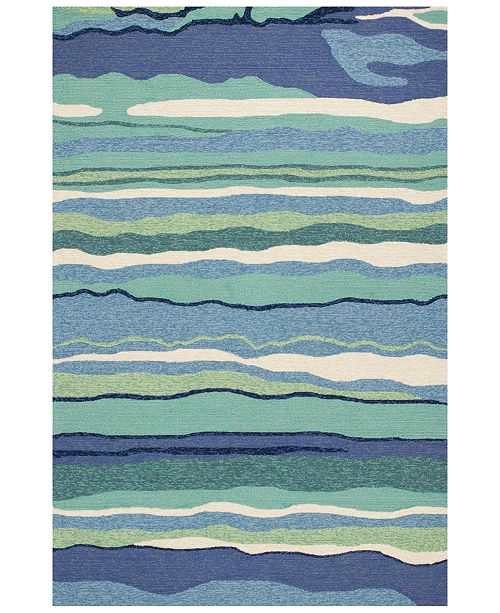 "Kas Harbor Lagoon 4216 Ocean 5' x 7'6"" Indoor/Outdoor Area Rug"
