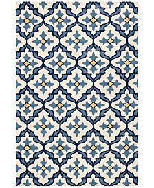 "KAS Harbor Mosaic 5' x 7'6"" Indoor/Outdoor Area Rug"