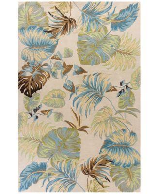 Havana Oasis 2630 Ivory/Blue 8' x 10'6