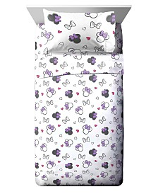 Disney Minnie Mouse 4-Pc. Full Sheet Set