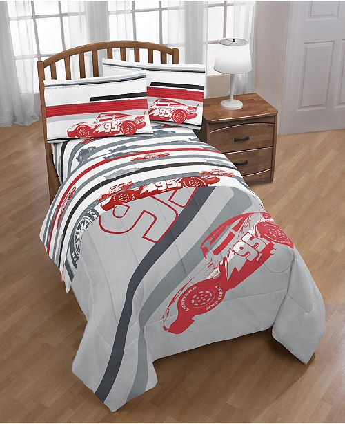 Disney Cars 3 Lightning Speed Twin Comforter