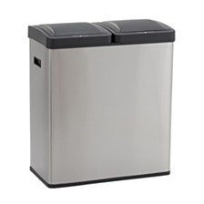 Household Essentials Stainless Steel Hunter Recycle Sensor Bin