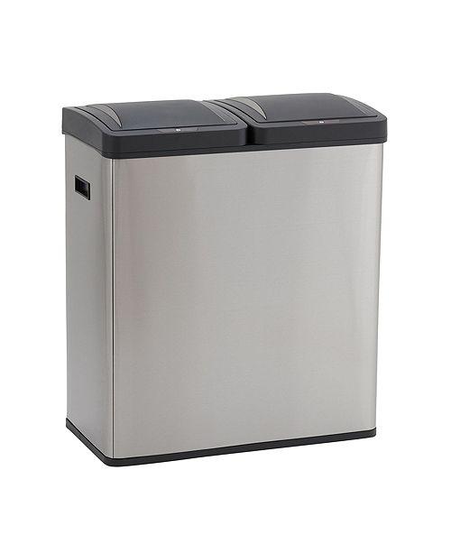 Household Essentials Stainless Steel Hunter Recycle Sensor Bin