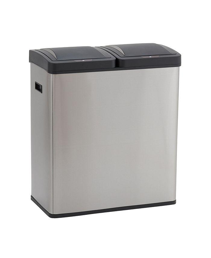 Household Essentials - Stainless Steel Hunter Recycle Sensor Bin