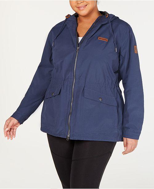 Columbia Plus Size Cultus Lake Hooded Jacket