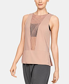 Misty Copeland Signature Embroidered Strappy-Back Tank Top