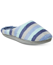 Dearfoams Leslie Quilted Microfiber Terry Clog