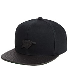 Mitchell & Ness Oklahoma City Thunder Matte Lux Snapback Cap