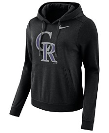 Nike Women's Colorado Rockies Club Pullover Hoodie