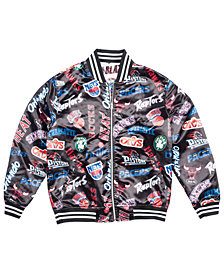 Mitchell & Ness Men's NBA ALL Over Collection Satin Jacket