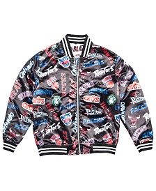Mitchell & Ness Men's NBA ALL Over Collection Satin Jacke