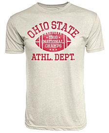 J America Men's Ohio State Buckeyes Tri-Blend '68 National Champ Football T-Shirt