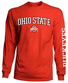 Men's Ohio State Buckeyes Midsize Slogan Long Sleeve T-Shirt