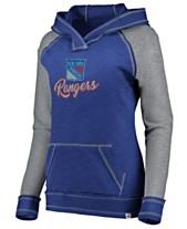 Majestic Women s New York Rangers Hyper V-Neck Hoodie c3c749f2e