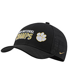 Nike Clemson Tigers 2019 National Champs Locker Room Strapback Cap