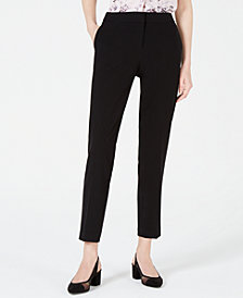Bar III Straight-Leg Dress Pants, Created for Macy's