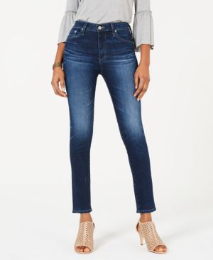 Image of Ag Farrah Skinny Ankle Denim - High Rise Skinny Ankle