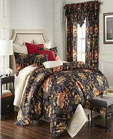 Midnight Bloom Comforter Set-Twin