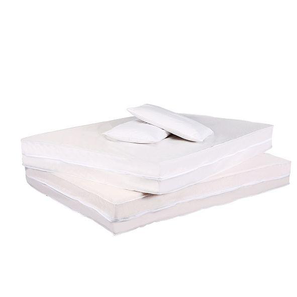 Permafresh Antibacterial and Water Resistant 4-Piece Complete Bed Protector Set