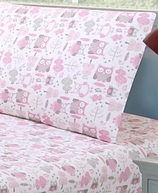Levtex Home Daniella Owl Twin Sheet Set