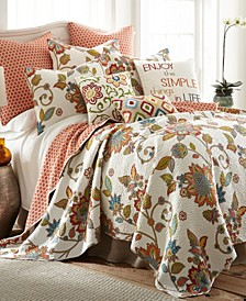 Home Clementine Twin Quilt Set