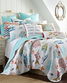 Home Barrier Reef King Quilt Set